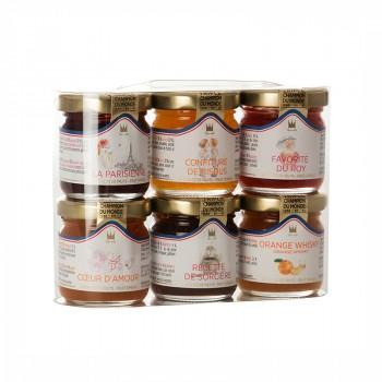 Coffrets & assortiment - Etui Valisette Polisson 6 Mini Pots De Confiture 45G -