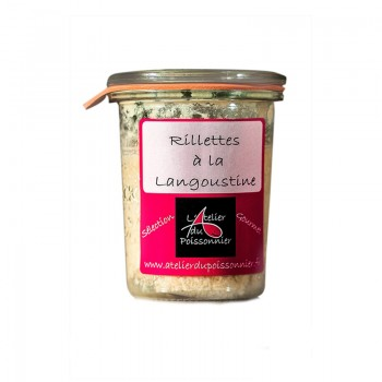 Tartinables - Rillettes Gourmet Langoustines 125G -