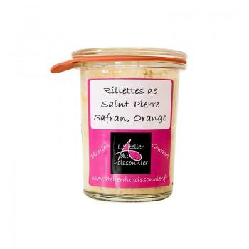 Tartinables - Rillette Gourmet Saint-Pierre Safran Orange 125G -