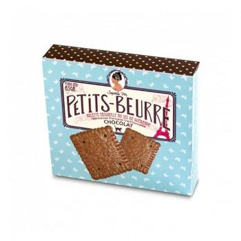 Biscuits traditionnels - Le Petit Beurre Chocolat X12 65G -