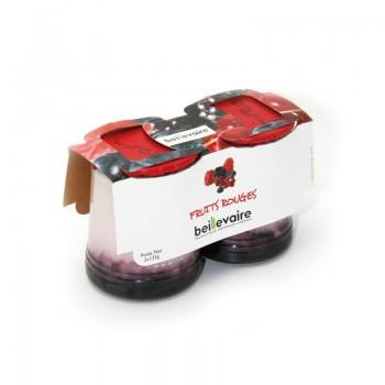 Yaourts & fromages blancs - Yaourt aux Fruits Lait Entier X2 Fruits Rouges 250G -