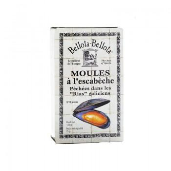Fruits de mer - Moules A L'Escabeche 110G -