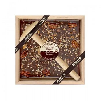 Chocolats fantaisies - Chocolat à Casser Brownie 400G -
