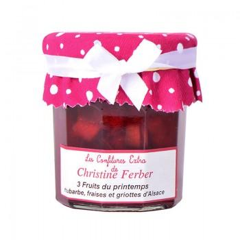 Créations originales - Confiture 3 Fruits du Printemps 220G -