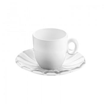 Tasses & mugs - Set De 2 Tasses à Espresso Grace Blanc -