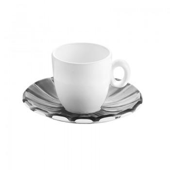 Tasses & mugs - Set de 2 Tasses Espresso Grace Gris -