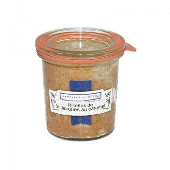 Tartinables - Rillettes de Saint Jacques au Caramel 100G -