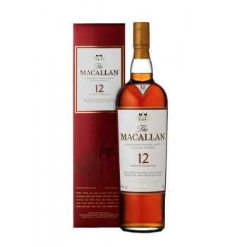 Écossais - Macallan 12 ans Sherry Oak 70CL -