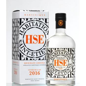 Martinique - Rhum Blanc HSE 2016 70CL -