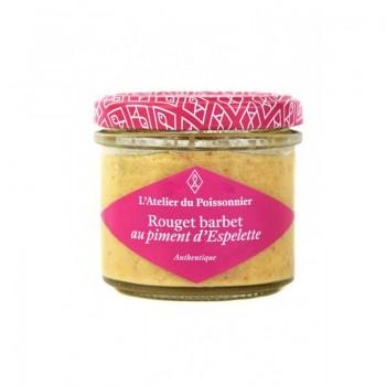Rillettes Authentiques Rouget Barbet Piment Espelette - 90G