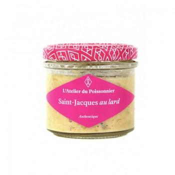 Rillettes Authentiques Saint Jacques Au Lard - 90G