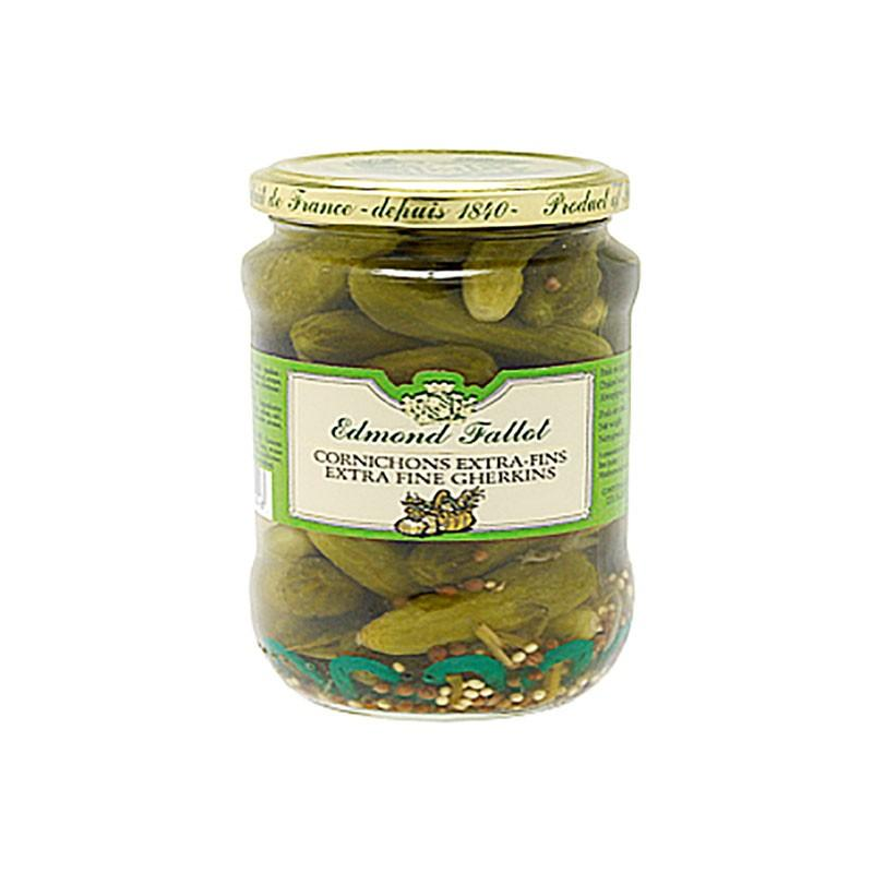Garnitures & accompagnements - Cornichons extra-fin en bocal 340G -