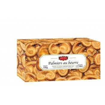 Biscuits traditionnels - Palmiers au Beurre 100G -
