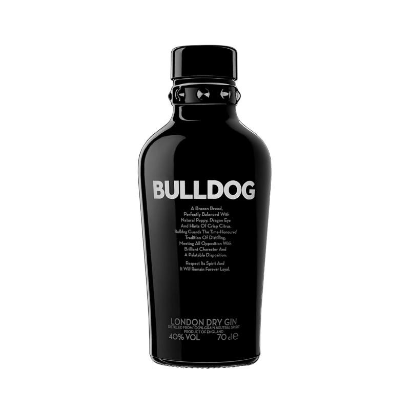 Téquila, Gin & Vodka - London Dry Gin Bulldog 70CL -