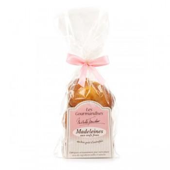 Madeleines & petits fours - Madeleines aux oeufs frais - 180 G -