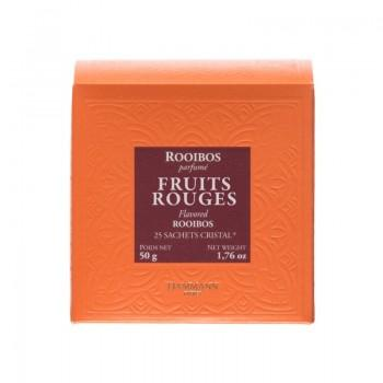 Infusions sachets - Rooibos Fruits Rouges - 25 sachets -